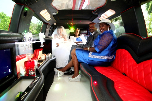 The ride was beautiful. The spacious limousine is always every girls dream.