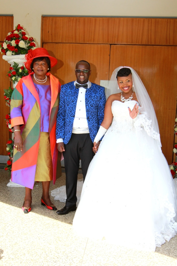 This wedding was a special one. Mama Ngina, former First Lady and the mom to the President was here to grace the occasion.