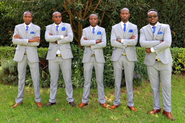 The gentlemen were looking awesome.