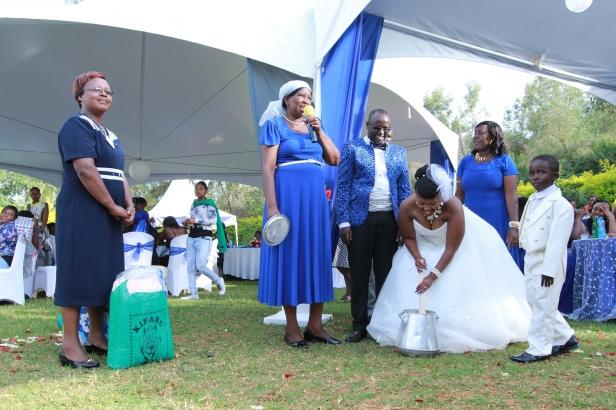 Na sasa tuonyeshe vile utafanya ukifika kwa Bwana yako.