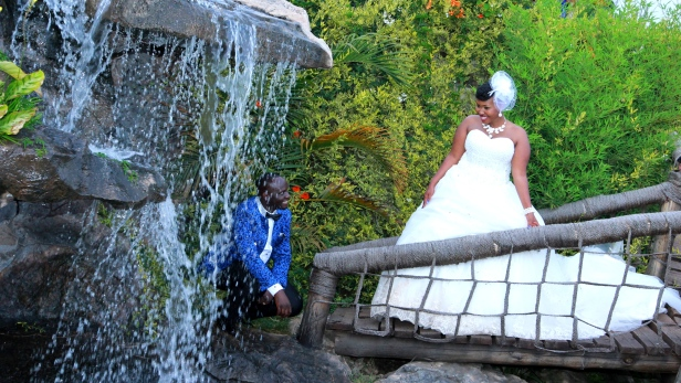 By the river, just below the fountain, whispers of Love emerged.